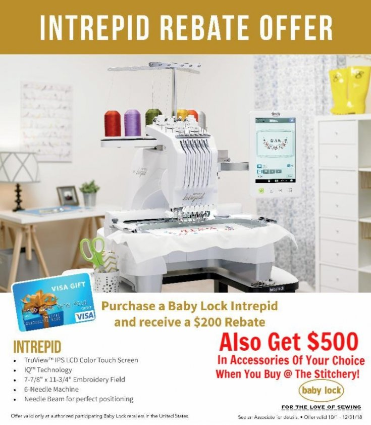 Baby Lock Sewing And Embroidery Machines Monthly Specials