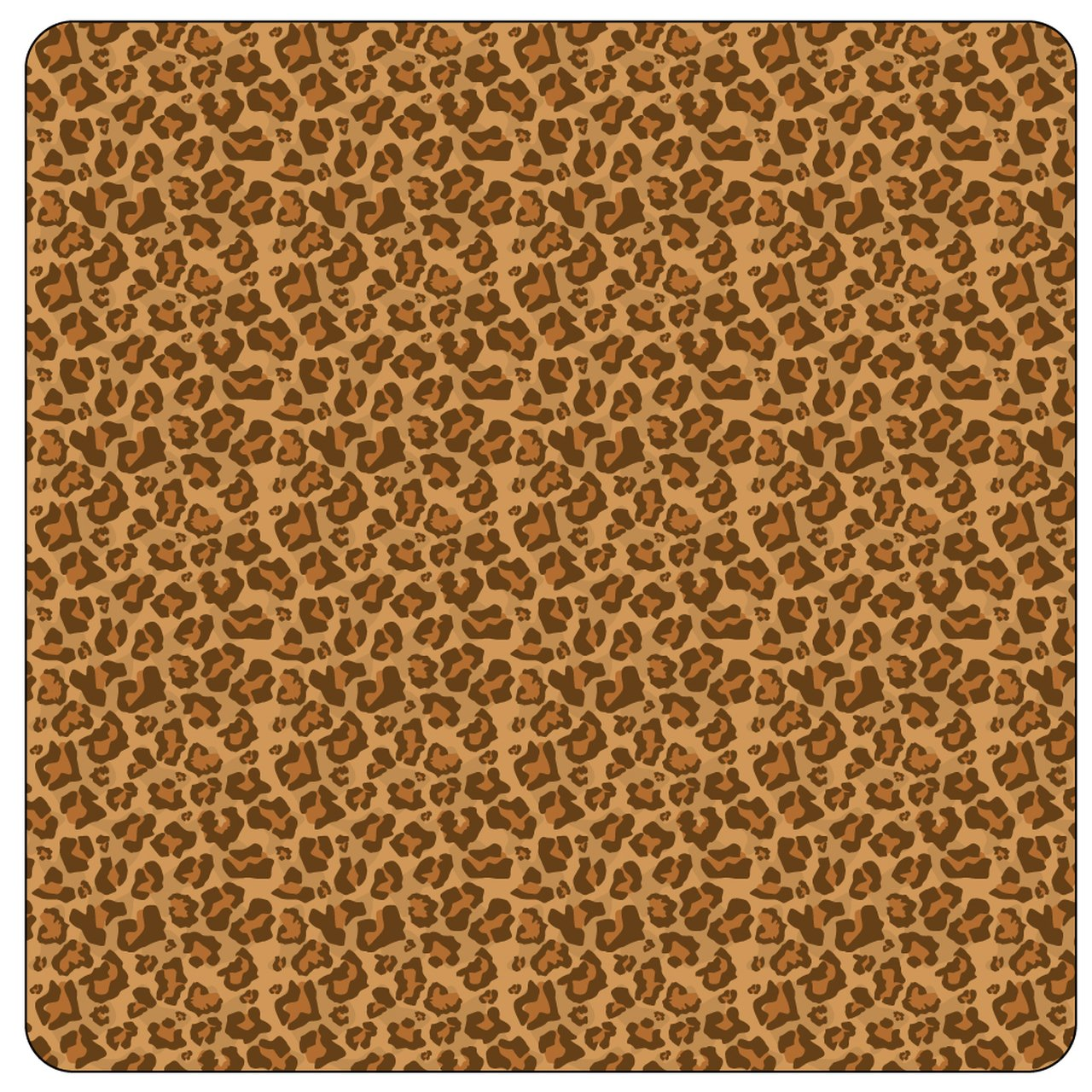 Brown Leopard HTV 12 x 14
