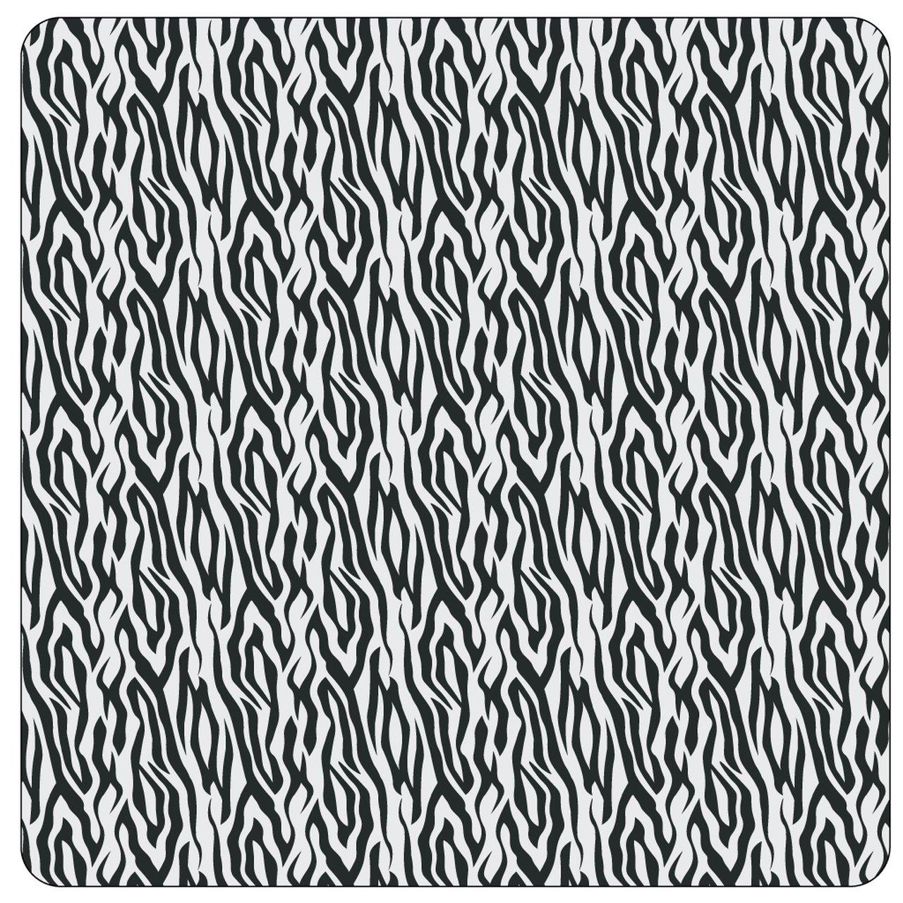 Black and White Zebra HTV 12 x 14
