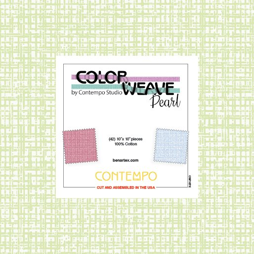 Color Weave Pearl 10 x 10 Squares