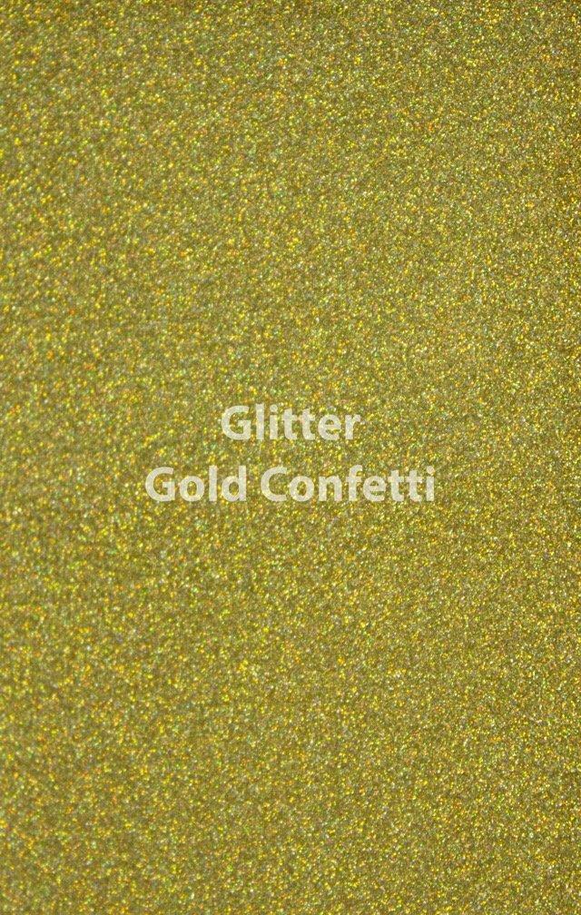 Siser HTV Glitter Gold Confetti Yard