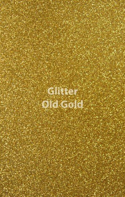 Siser HTV Glitter Old Gold Sheet