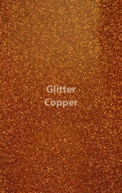 Siser HTV Glitter Copper Sheet