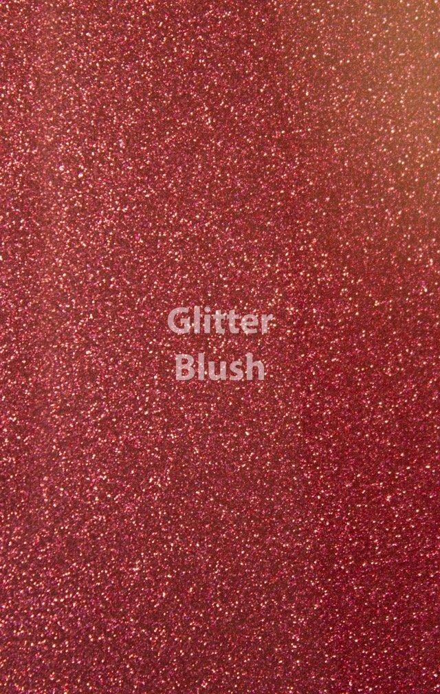 Siser HTV Glitter Blush Sheet