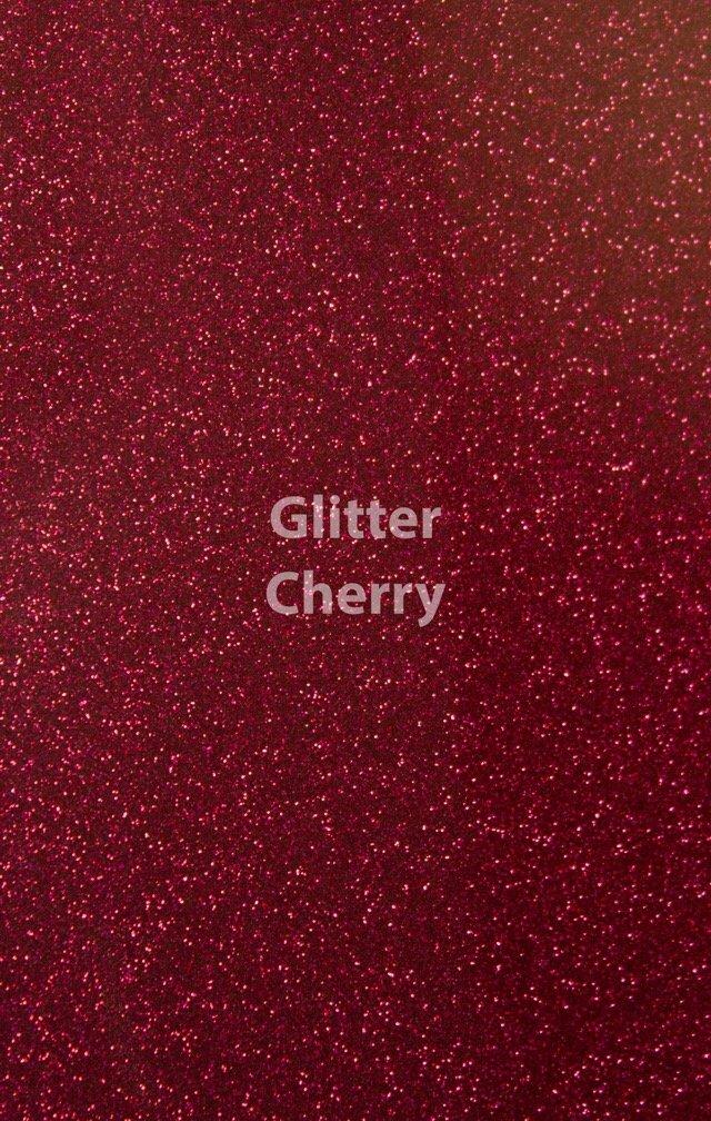Siser HTV Glitter Cherry Sheet