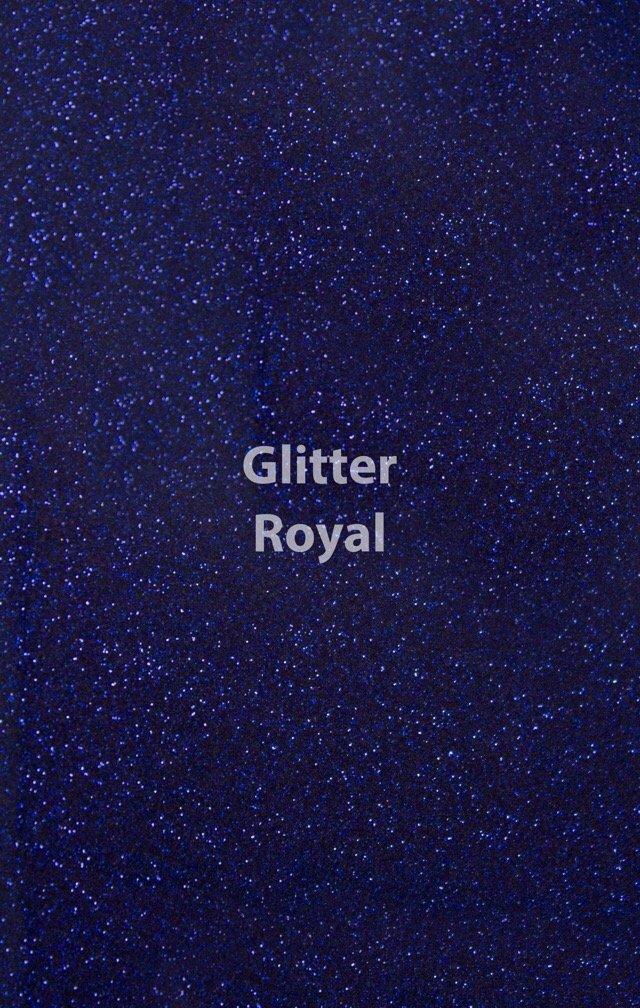 Siser HTV Glitter Royal Blue Sheet