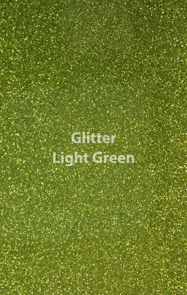 Siser HTV Glitter Light Green Sheet
