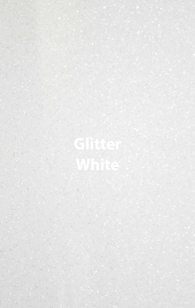 Siser HTV Glitter White Yard