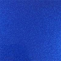 Marine Blue Glitter Adhesive Vinyl Sheet
