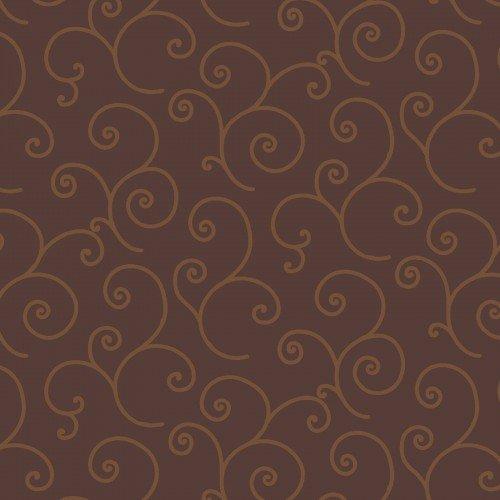 Brown Tonal Scroll