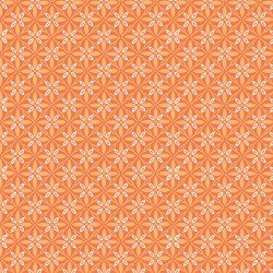 Make Yourself at Home Orange Tufted Star