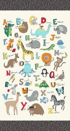 Animal ABC Panel