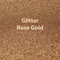 Siser HTV Glitter Rose Gold Sheet