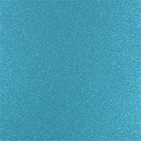 Sparkling Aqua Glitter Adhesive Vinyl Yard