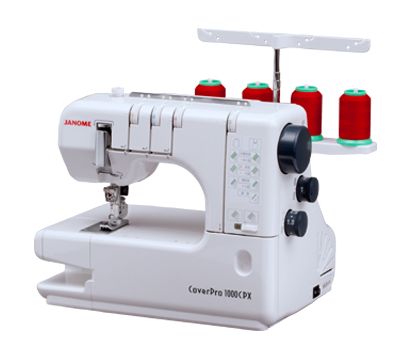 Janome  1000CPX Cover Hem Sewing Machine