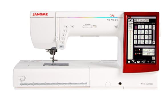 Janome Memory Craft 14000