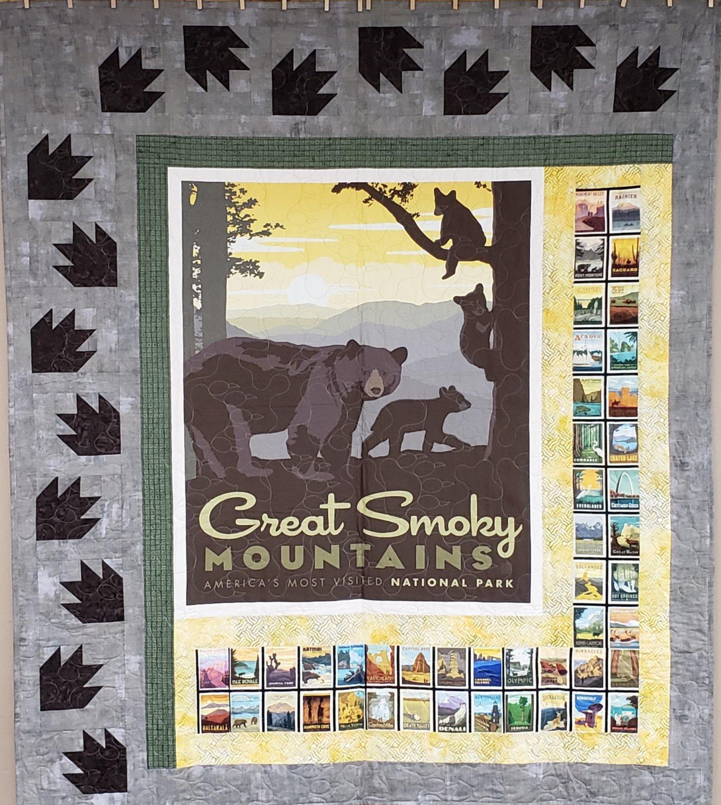 Smoky Mountain Panel Quilt Kit