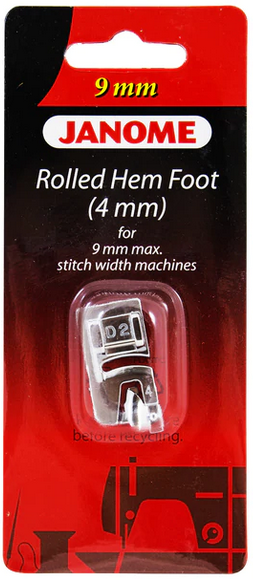 Janome 4mm Rolled Hem Foot