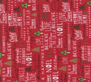 Merry Starts Here Red 5730 11