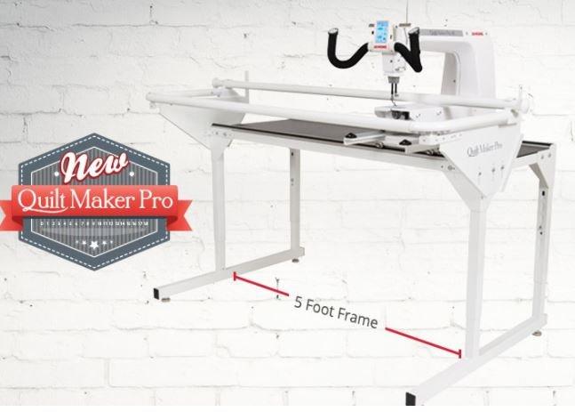 Janome Pro Frame 5' for Longarm Machines