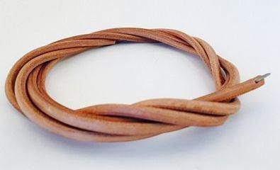Leather Treadle Belt 3/16 X 72 w/hook