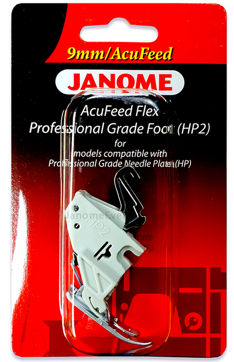 Janome 9mm AcuFeed HP2 Professional Grade Foot