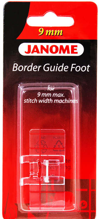 Janome 9 mm Border Guide Foot