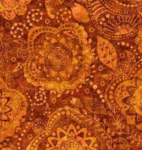 Caravan Burnt Orange 1649 26183O