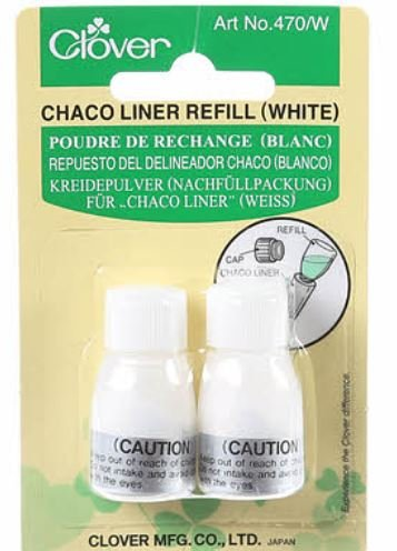 Chaco Liner Chalk Refill White