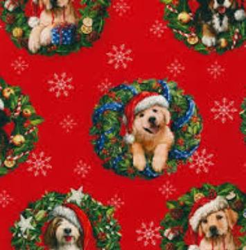 Christmas Pets - Dogs