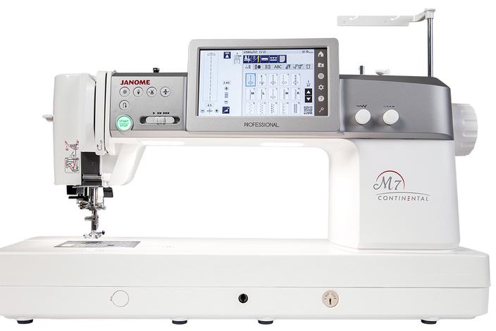 Janome Continental M7 Professional Sewing Machine