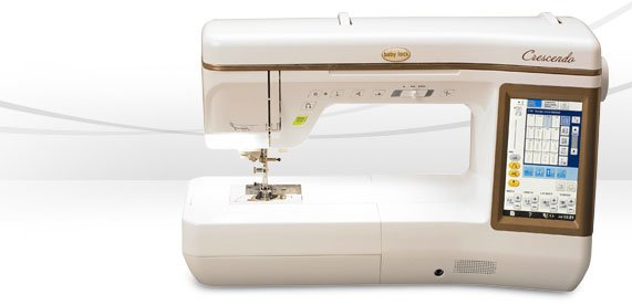Marietta's Quilt and Sew, Baby Lock Machine Videos, Crescendo
