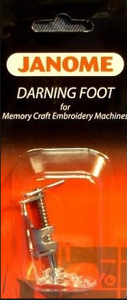 Janome Darning Foot for Memory Craft Embroidery Machines