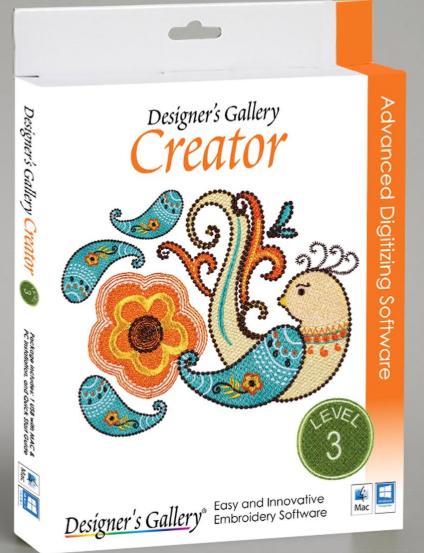 Designers Gallery Creator Level 3 - Software