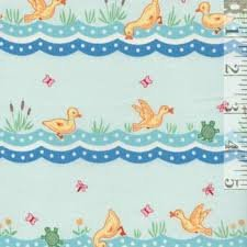 ANIMAL QUACKERS- DUCK STRIPE-TEAL