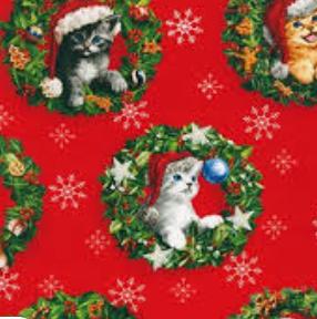 Christmas Pets- Cats