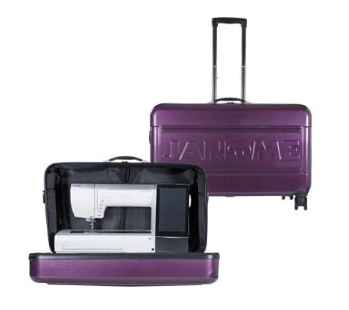 Janome MC15000 Hard Case Roller