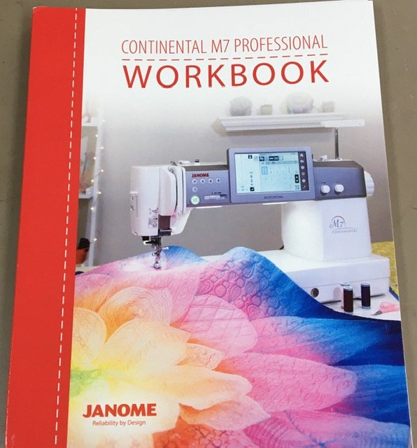 Janome Work Book - Continental M7 Professional