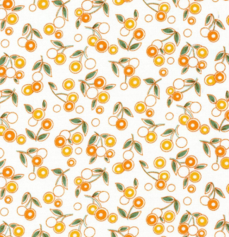 ANIMAL QUACKERS- LOLLIPOP FLOWERS- ORANGE - 8825-O