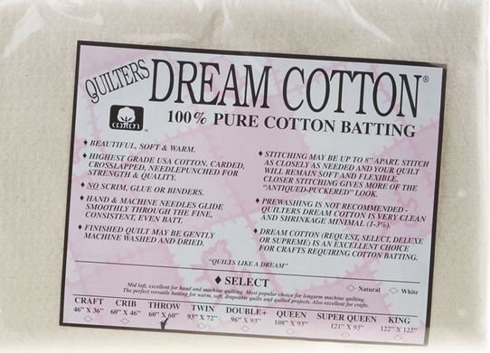 Quilters Dream Throw White W4TH