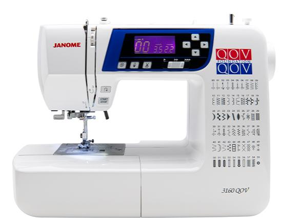 Janome 3160QOV (Quilt Of Valor Edition)