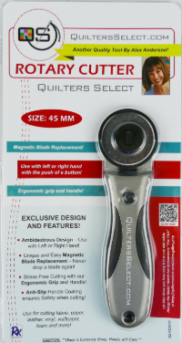 Quilters Select Deluxe Rotary Cutter  45 mm