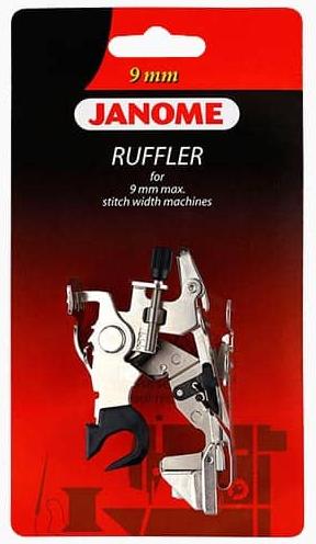 Janome 9mm Ruffler Foot