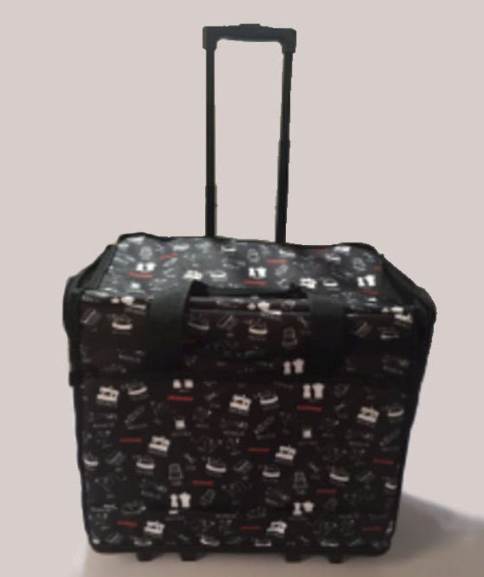 Janome 100 Year Anniversary Fabric Soft Roller Case