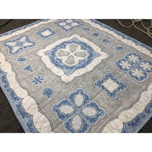 Silver Bells Quilt by OESD