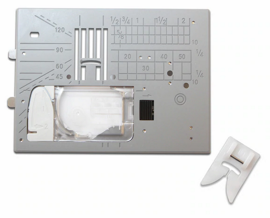 Janome 9mm Ultraglide Plate and Foot Set