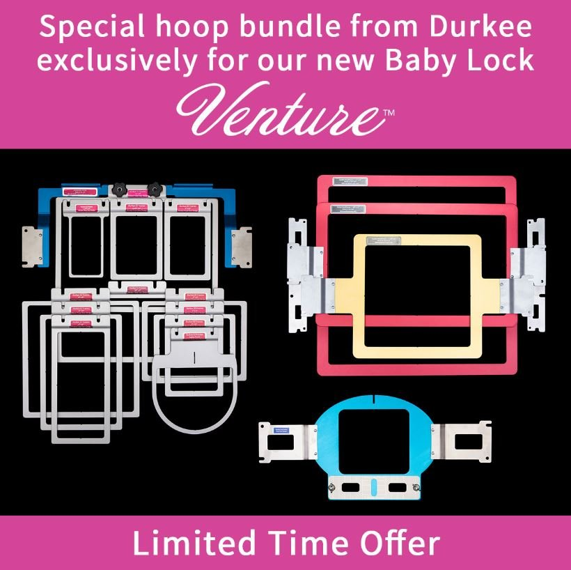Durkee Promo Package for the 10 Needle Venture