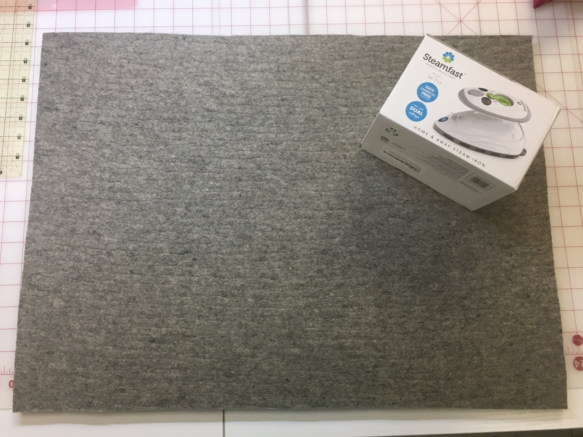 Wooly Felt Ironing Mat 18in x 24in