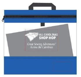 All Carolinas Shop Hop- XL Craft Caddy Bag