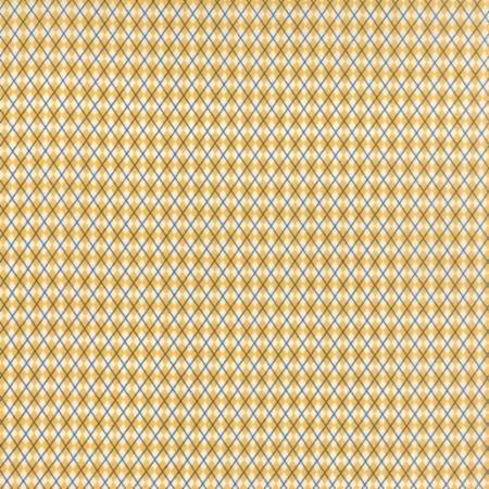 Varsity gold & white argyle 5593 17